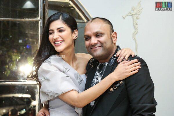 Shruti Haasan  At The Gaurav Gupta Store Launch In Hyderabad