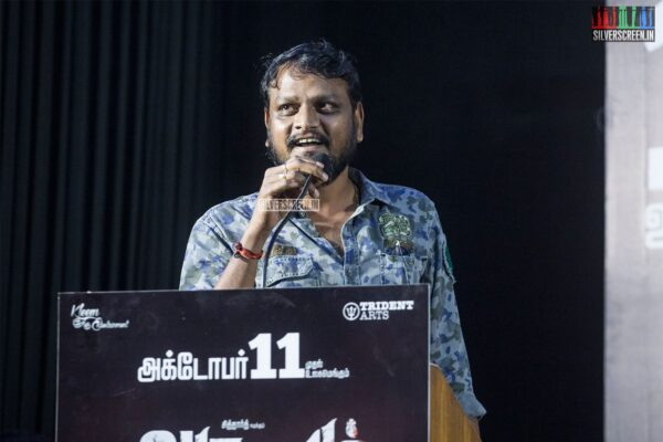 Celebrities At The 'Aruvam' Press Meet