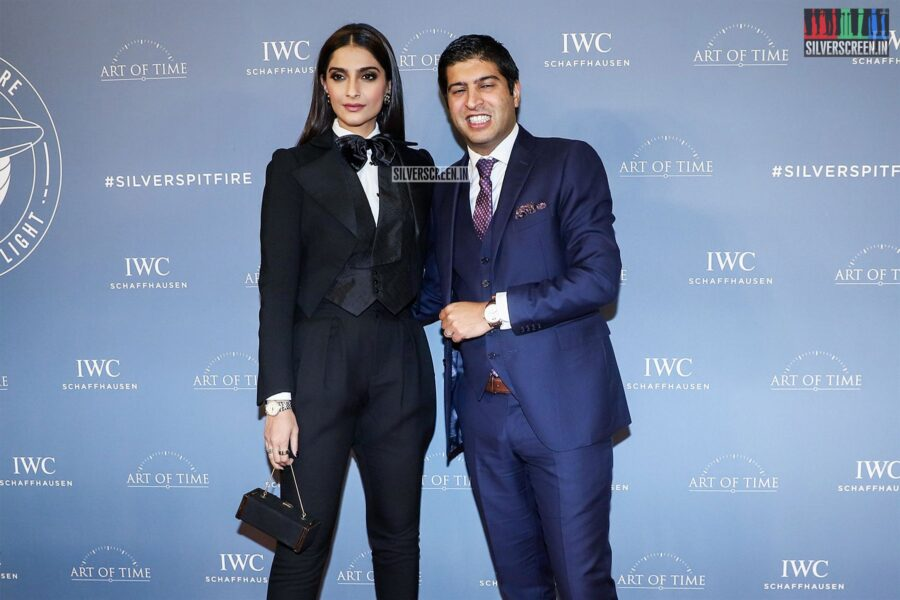 Sonam Kapoor At The 'IWC Schaffhausen' Watch Collection