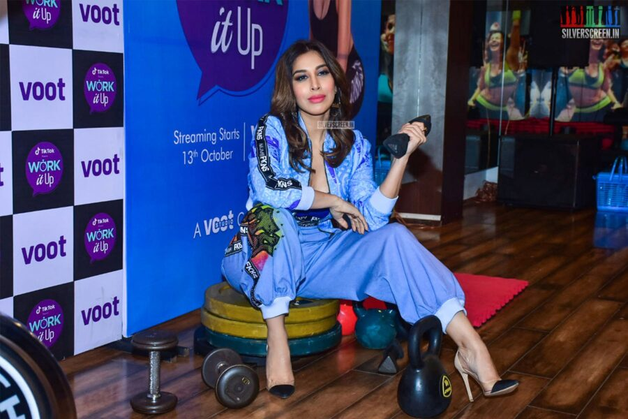 Sophie Choudry At The 'Work It Up' Event