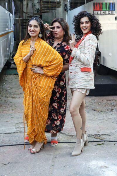 Taapsee Pannu, Bhumi Pednekar Promote 'Saand Ki Aankh'