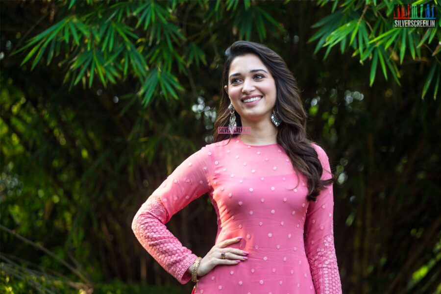 Tamannaah Bhatia At The 'Petromax' Press Meet