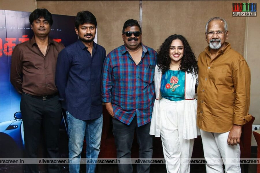 Udhayanidhi Stalain, Nithya Menen Promote 'Psycho'
