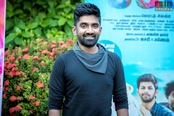 Dharan Kumar At The 'Puppy' Press Meet