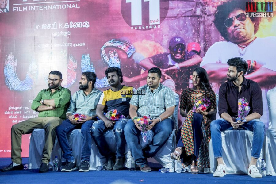 Celebrities At The 'Puppy' Press Meet
