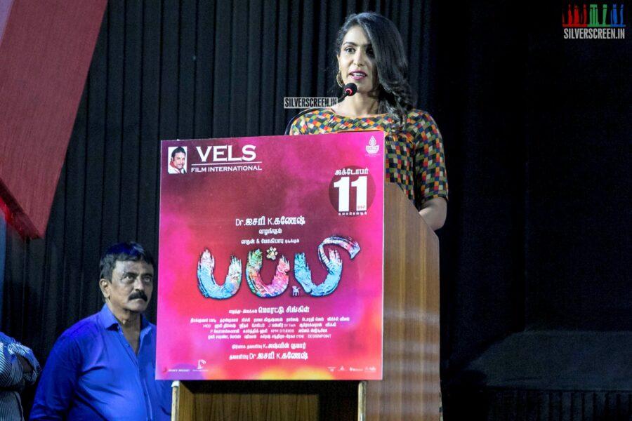 Samyuktha Hegde At The 'Puppy' Press Meet