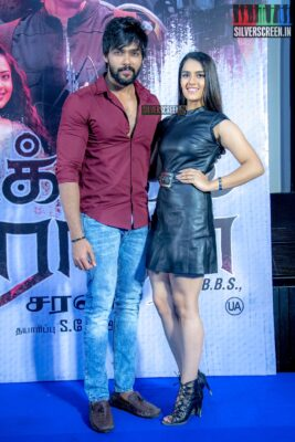 Aarav, Kavya Thappar At The 'Market Raja MBBS' Press Meet