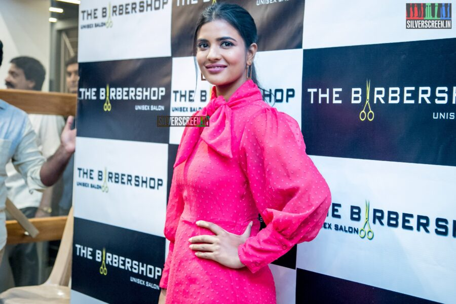 Aishwarya Rajesh At The Launch Of 'The Barber Shop - Unisex Salon'