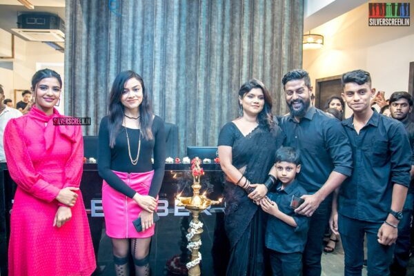 Aishwarya Rajesh At The Launch Of 'The Barber Shop - Unisex Salon'