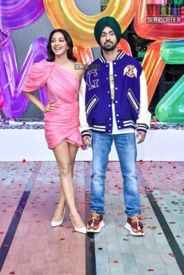 Kiara Advani, Diljit Dosanjh At The 'Good Newwz' Trailer Launch