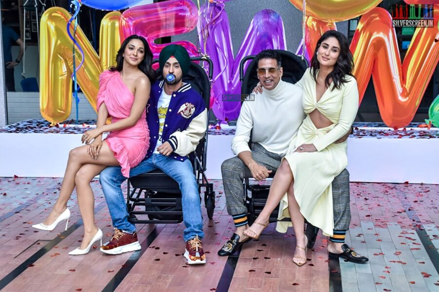 Akshay Kumar, Kareena Kapoor, Kiara Advani, Diljit Dosanjh At The 'Good Newwz' Trailer Launch