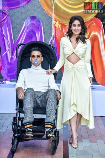Akshay Kumar, Kareena Kapoor At The 'Good Newwz' Trailer Launch