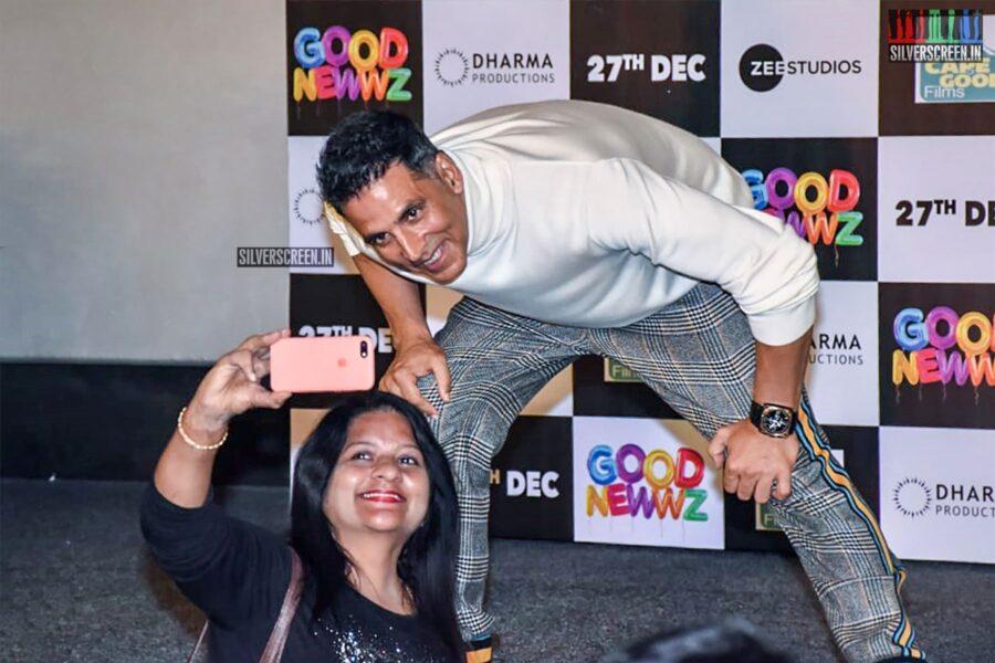 Akshay Kumar At The 'Good Newwz' Trailer Launch