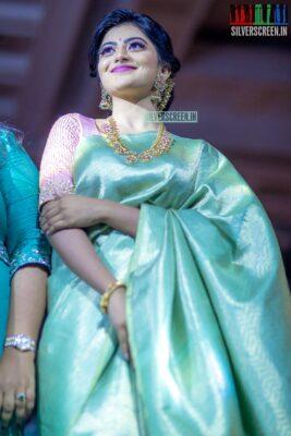 Anandhi At The 'Madras Bridal Fashion Show - Edition 4'