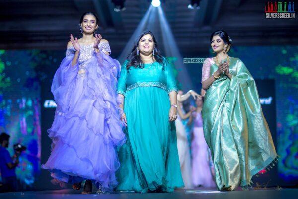 Anandhi, Dayana Erappa At The 'Madras Bridal Fashion Show - Edition 4'