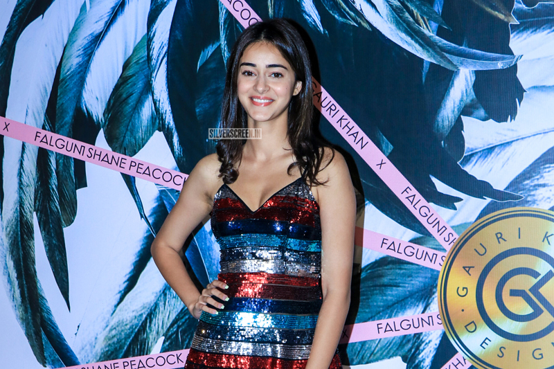 Ananya Panday At Falguni Shane Peacock Store Launch