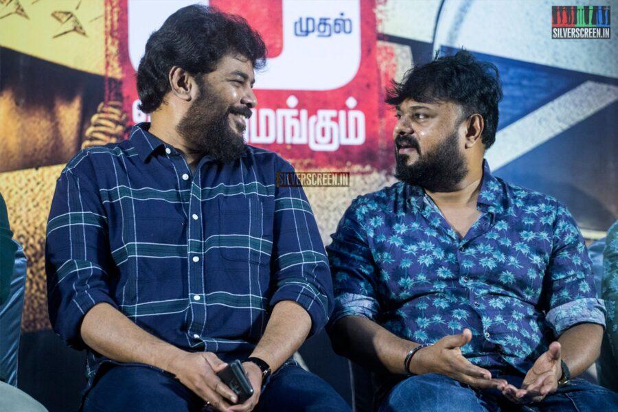 Sundar C At The 'Iruttu' Press Meet