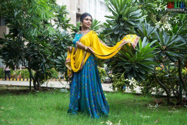 Riythvika At The 'Irandam Ulagaporin Kadaisi Gundu' Audio Launch