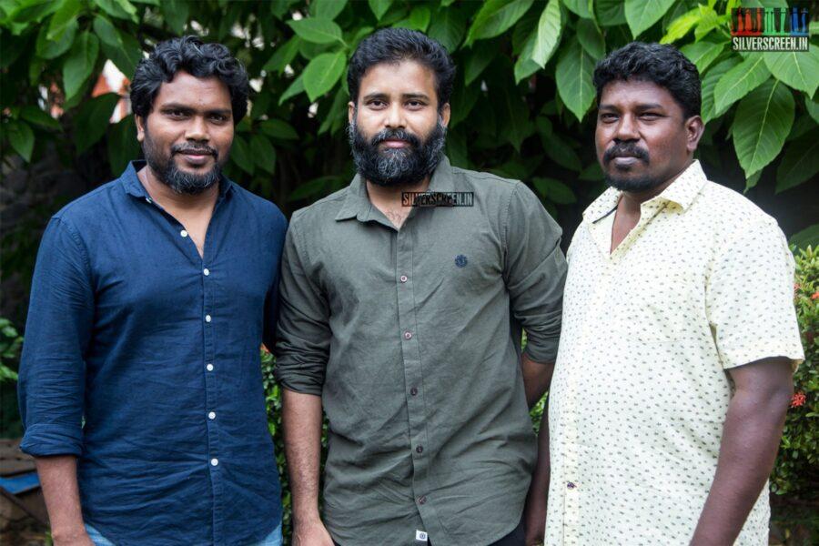 Ameer, Pa Ranjith At The 'Irandam Ulagaporin Kadaisi Gundu' Audio Launch