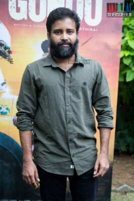 Ameer At The 'Irandam Ulagaporin Kadaisi Gundu' Audio Launch