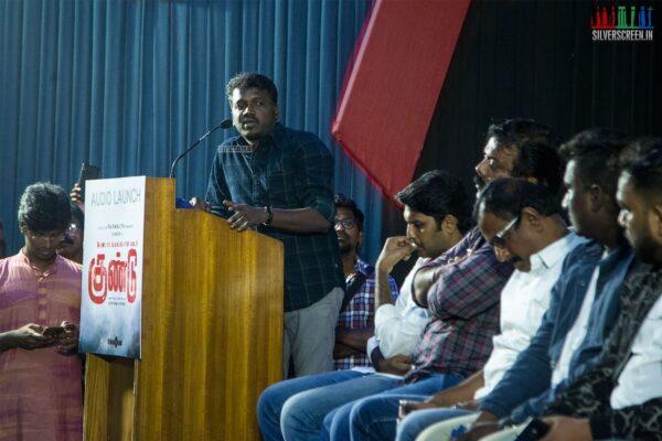 Mari Selvaraj At The 'Irandam Ulagaporin Kadaisi Gundu' Audio Launch