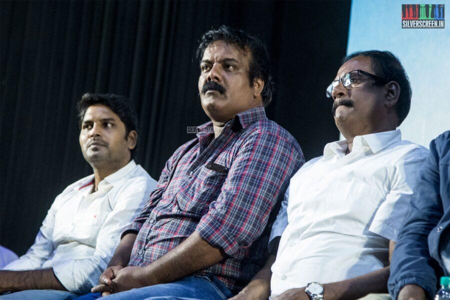 Munishkanth At The 'Irandam Ulagaporin Kadaisi Gundu' Audio Launch