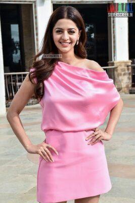 Vedhika Promotes 'The Body'