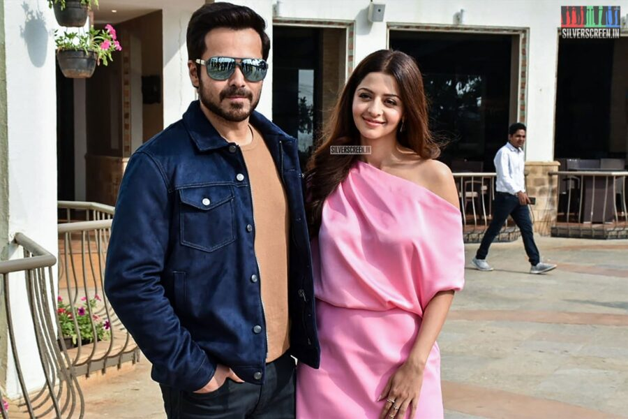 Emraan Hashmi And Vedhika Promote 'The Body'