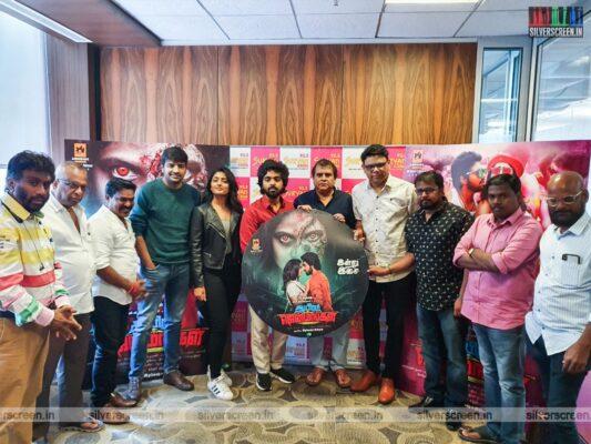 GV Prakash Kumar, Eesha Rebba At The 'Aayiram Jenmangal' Audio Launch