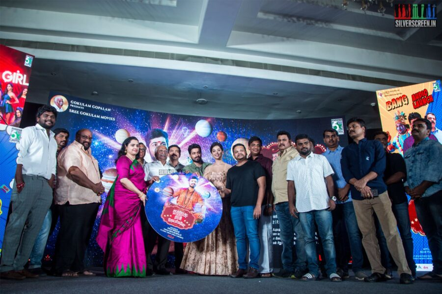 Celebrities At The 'Dhanusu Raasi Neyargalae' Audio Launch