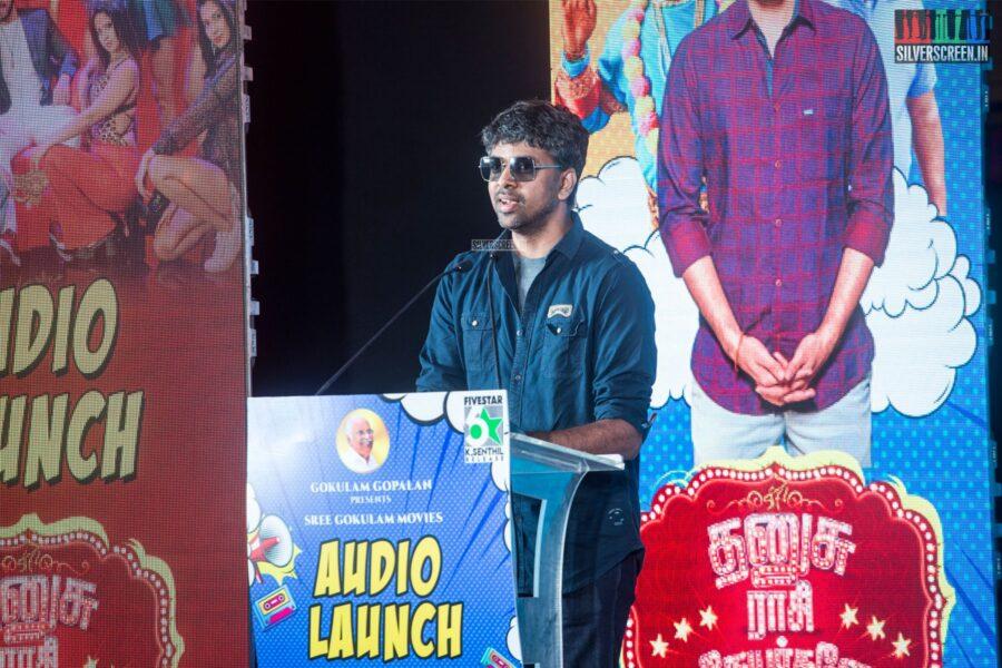 Madhan Karky At The 'Dhanusu Raasi Neyargalae' Audio Launch