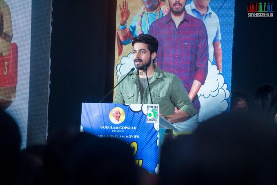 Harish Kalyan At The 'Dhanusu Raasi Neyargalae' Audio Launch