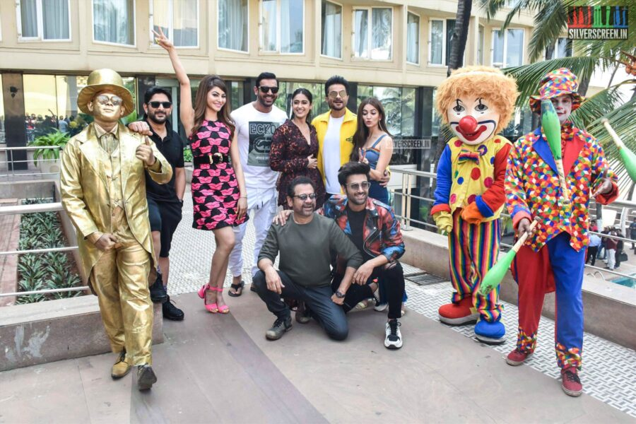 Ileana D' Cruz, Kriti Kharbanda, Urvashi Rautela, Anil Kapoor Promote 'Pagalpanti'