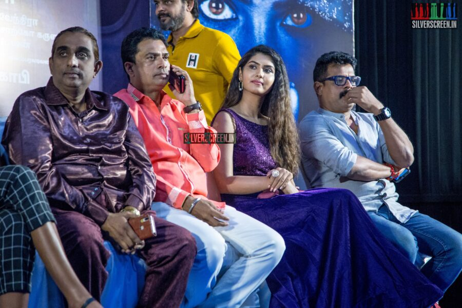 Celebrities At The 'Karuthukalai Padhivu Sei' Audio And Trailer Launch