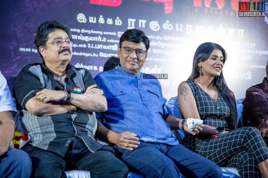 K Bhagyaraj At The 'Karuthukalai Padhivu Sei' Audio And Trailer Launch