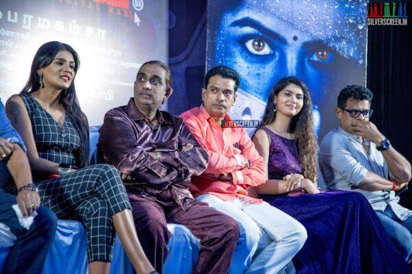 Meera Mithun At The 'Karuthukalai Padhivu Sei' Audio And Trailer Launch