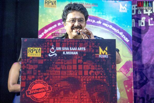 SV Sekhar At The 'Karuthukalai Padhivu Sei' Audio And Trailer Launch