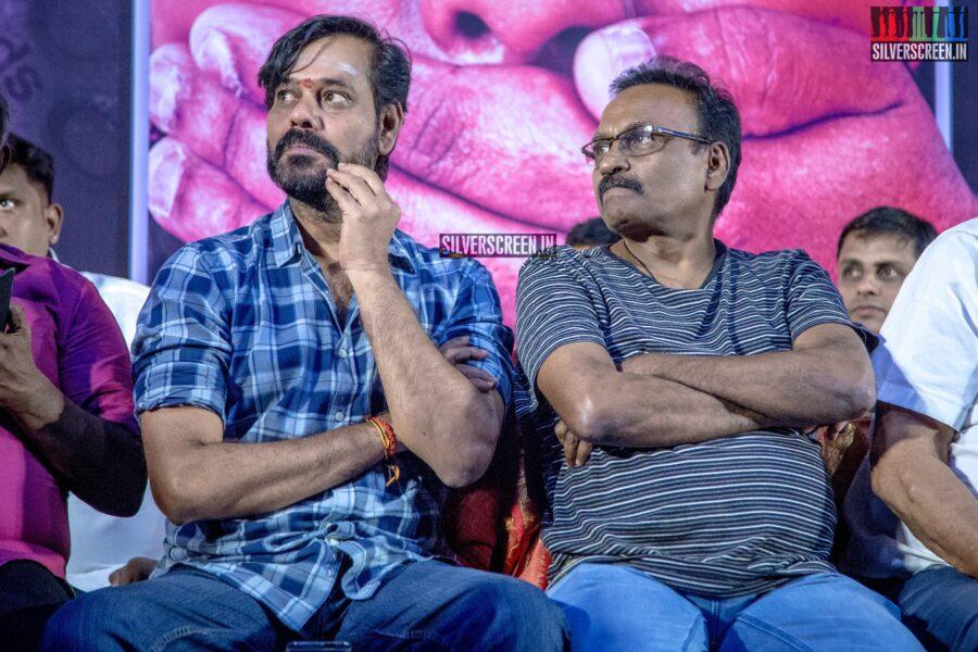 Natarajan Subramaniam At The 'Karuthukalai Padhivu Sei' Audio And Trailer Launch