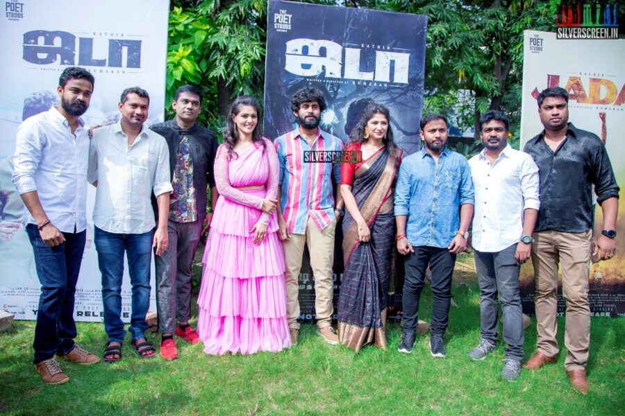 Kathir, Roshni Prakash, Swathishta At The 'Jada' Audio Launch