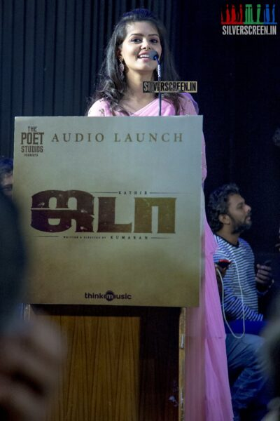 Swathishta At The 'Jada' Audio Launch