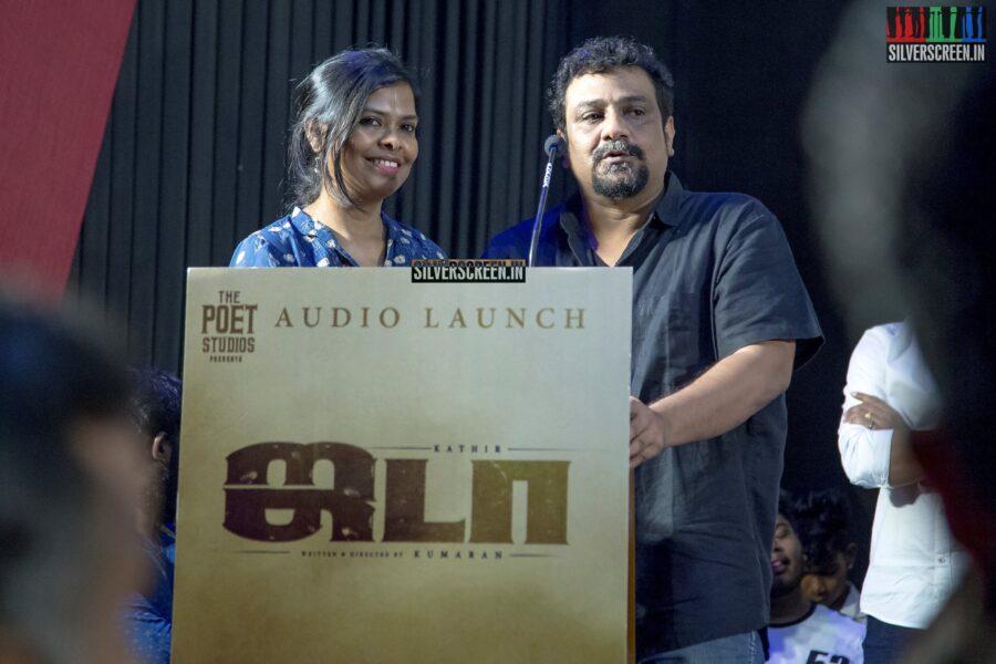 Pushkar-Gayathri At The 'Jada' Audio Launch