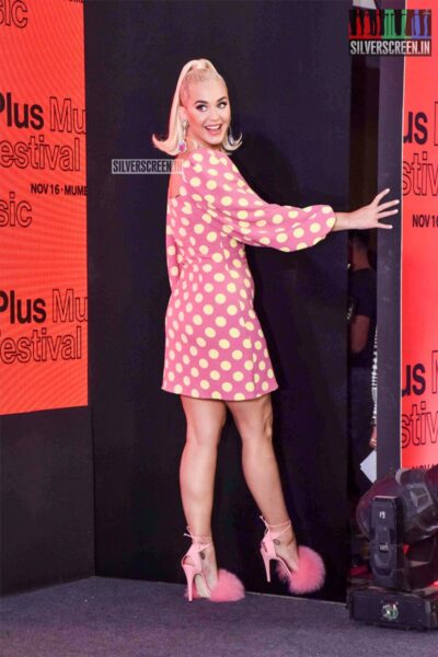 Katy Perry At 'One Plus Music Festival' Press Meet