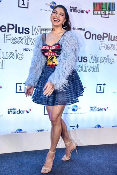 Jacqueline Fernandez At 'One Plus Music Festival' Press Meet