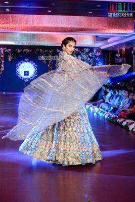 Pooja Hegde Walks The Ramp For Manish Malhotra's Wedding Collection