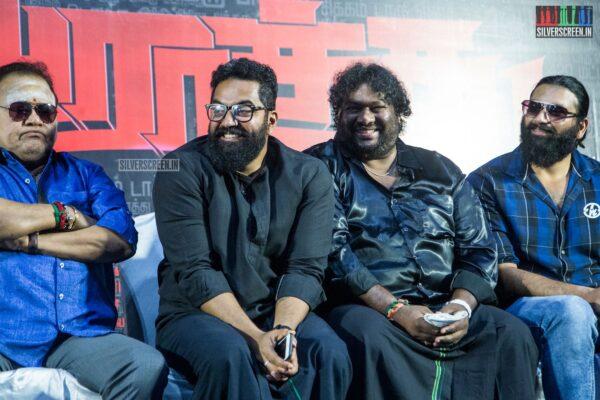 Robert, Srikanth Deva At The 'Arathu' Audio Launch