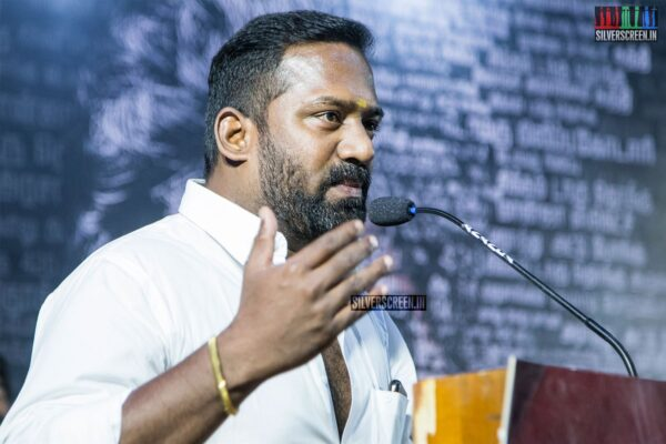 Robo Shankar At The 'Arathu' Audio Launch
