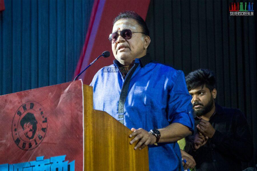 Radha Ravi At The 'Arathu' Audio Launch
