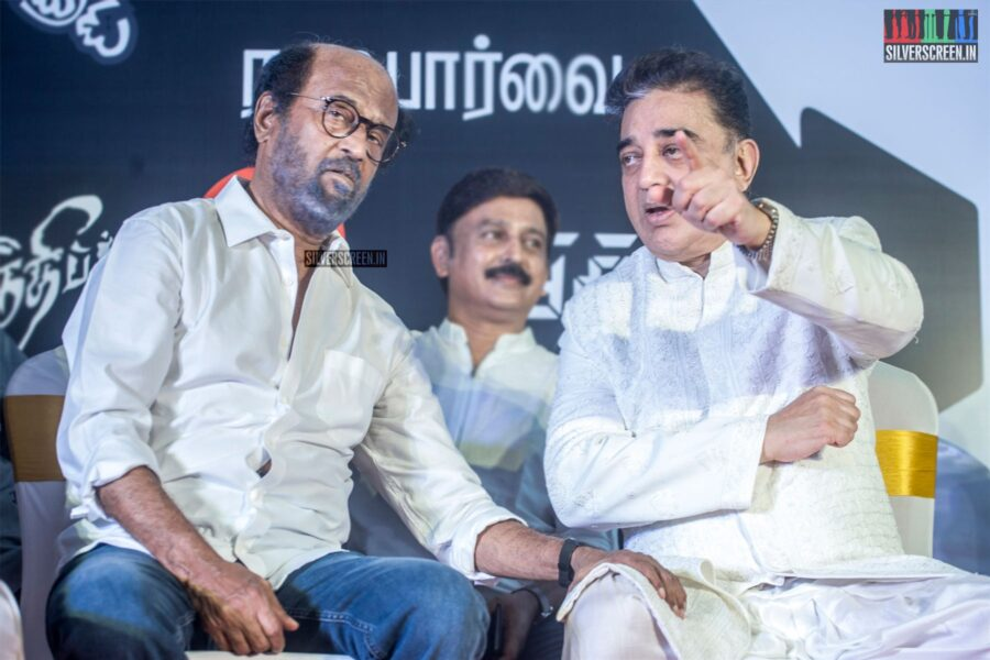 Rajinikanth, Kamal Haasan At #Kamal60