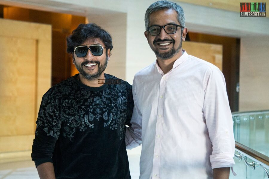 RJ Balaji At The Launch Of His Podcast - Jio Saavn's Mind Voice