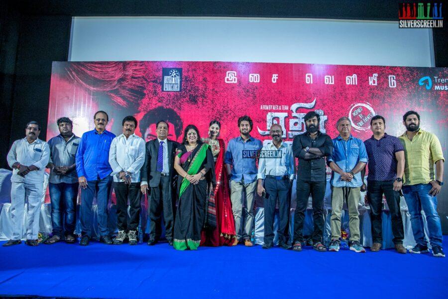 Sanam Shetty At The 'Ethirvinaiyatru' Audio Launch